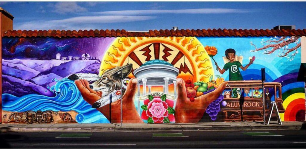 Carlos Rodriguez Alum Rock Mural
